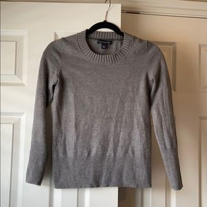 Banana Republic Gray Wool Sweater
